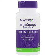 Заказать Natrol Brain Speed Memory 60 вег таб